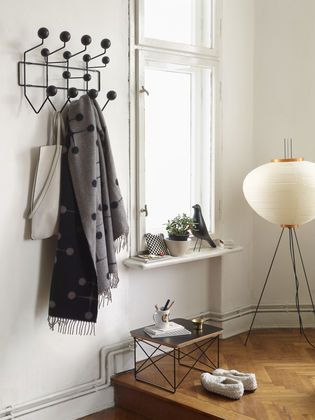 Hang it all | Eames Bird | Eames Occasional Table LTR - Like no other colour, black evokes a timeless elegance.
