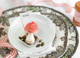 Mushroom meringues - brilliant!