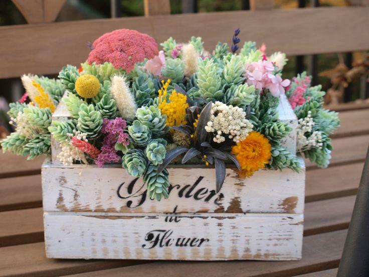 702 mejores im genes sobre dried flower en pinterest - Arreglos florales con flores secas ...
