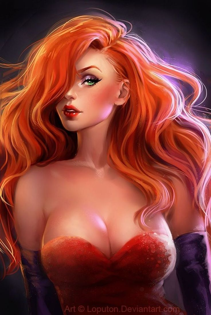 Jessica Rabbit Image © by sakimichan Deviant Art