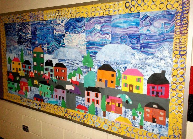55 best mural images on pinterest mural ideas school for 7 habits tree mural