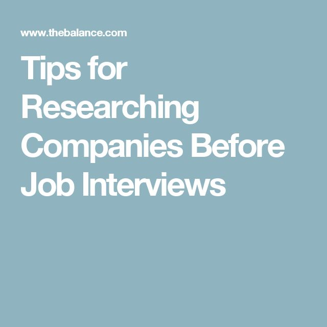 Tips for Researching Companies Before Job Interviews