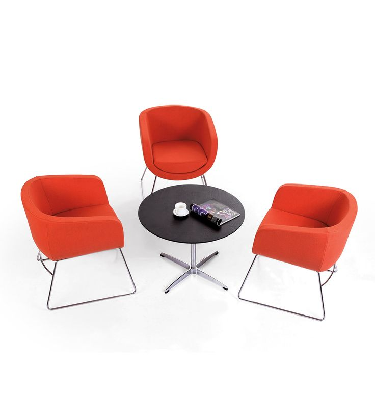 Commercial furniture - Create a relaxing breakout area in your office.  Office furniture ideas. #howimports