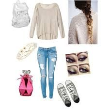 Image result for cute back to school outfits for 8th grade                                                                                                                                                      More