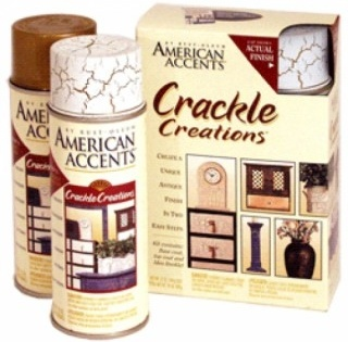 Краска с эффектом трещин (кракелюры). Cracle Creations из серии American Accents: American Accents