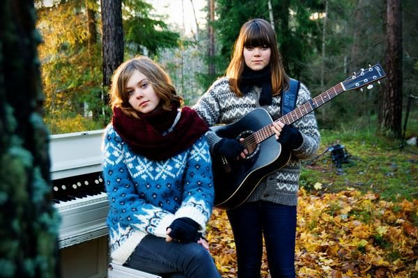 "Addicted to ""When I Grow Up"" by Swedish sisters Johanna and Klara Söderberg of First Aid Kit. Think Fleet Foxes + Joanna Newsom."