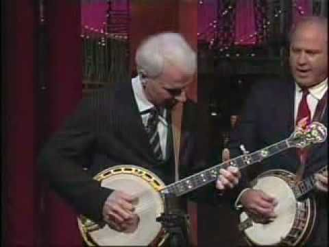 Men With Banjos Who Know How To Use Them (feat. Earl Scruggs and Steve Martin) on The Letterman Show