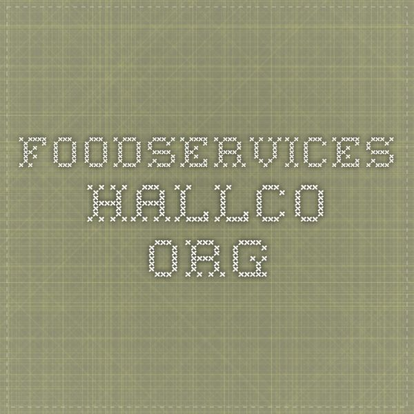 foodservices.hallco.org