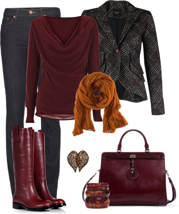 """In the neighborhood: deep autumn love"" by madamedeveria on Polyvore"