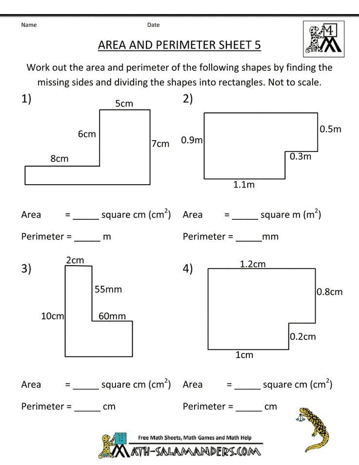 Best 25+ Perimeter worksheets ideas on Pinterest | Kids math, I ...