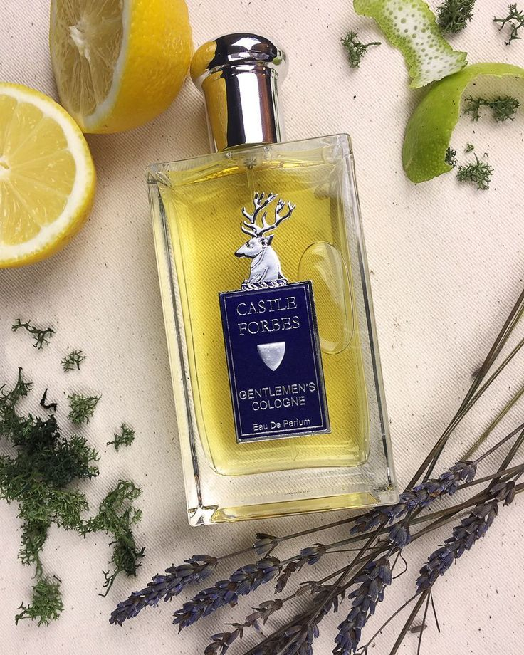 Castle Forbes' Gentleman Cologne is as no-nonsense as the men it is intended for. A unique blend of citrus, lavender, fern and oak moss makes for a fragrance reminiscent of a Sunday stroll through Scottish hills. Ay, laddie. Ye canne beat a brisk Glaswegian morn'.