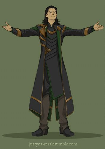 Loki!Gabe by Wind-up-Owl - You can all just go home, because everything about this is perfect.