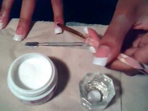 This seems like a way easier way to apply acrylic at home i will have to give this a try sometime