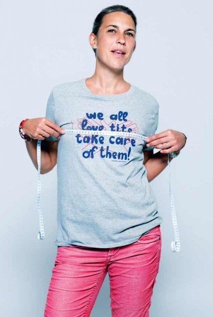 Isabel Marant s'engage contre le cancer du sein