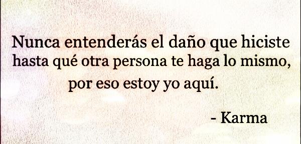 karma quotes in spanish - photo #5