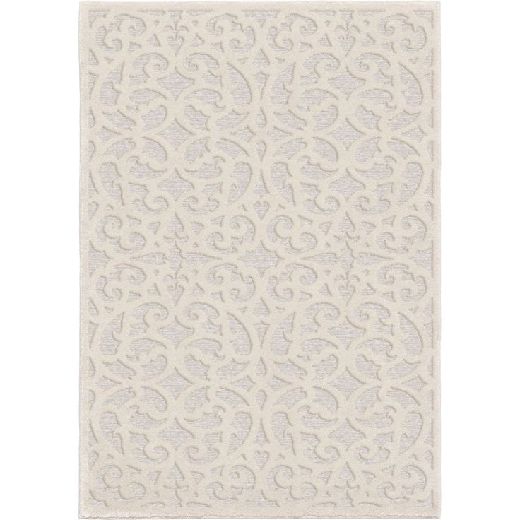 Farrand Natural Ivory Indoor Outdoor Area Rug Natural