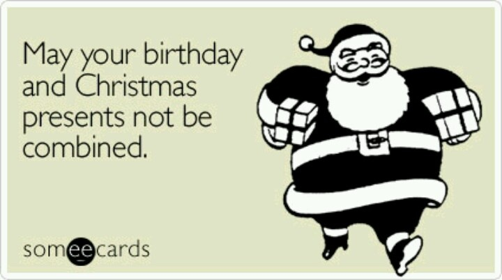 For all you December babies--YEP!