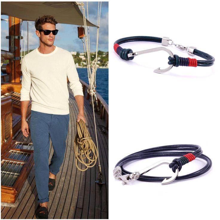 LUXURY NAUTIC MAN ⚓️ #bostinidesign #love #sea #love #man #style #trendy #blue #anchor #follow