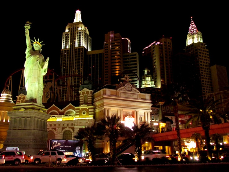 Las Vegas, czyli światowa stolica rozrywki. Fot. radio RMF FM
