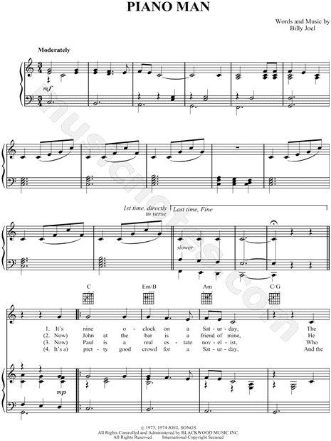 Harmonica u00bb Harmonica Chords For Piano Man - Music Sheets, Tablature, Chords and Lyrics