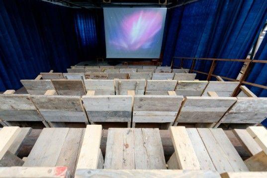 Sugarhouse Studios Pop Up Cinema & Workshop Encourages Community Interaction in London   Inhabitat - Sustainable Design Innovation, Eco Architecture, Green Building