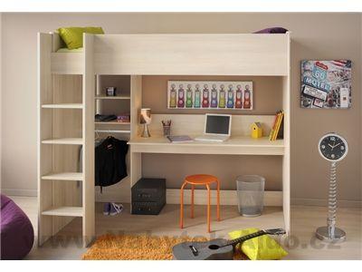 Dětská patrová postel Kurt