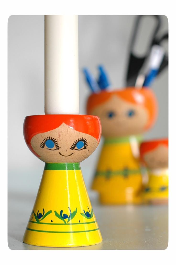 Lyholmer candle holder by Helen & Mogens Lyholmer, Denmark