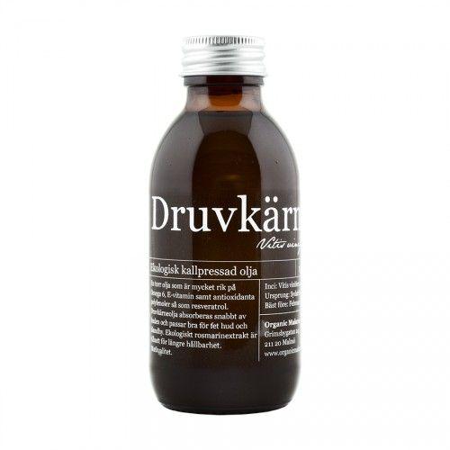 Ekologisk Druvkärnolja / Organic Grape Seed Oil - Organic Makers http://www.organicmakers.se/shop/ekologiska-vegetabiliska-oljor/400-ekologisk-druvkaernolja.html