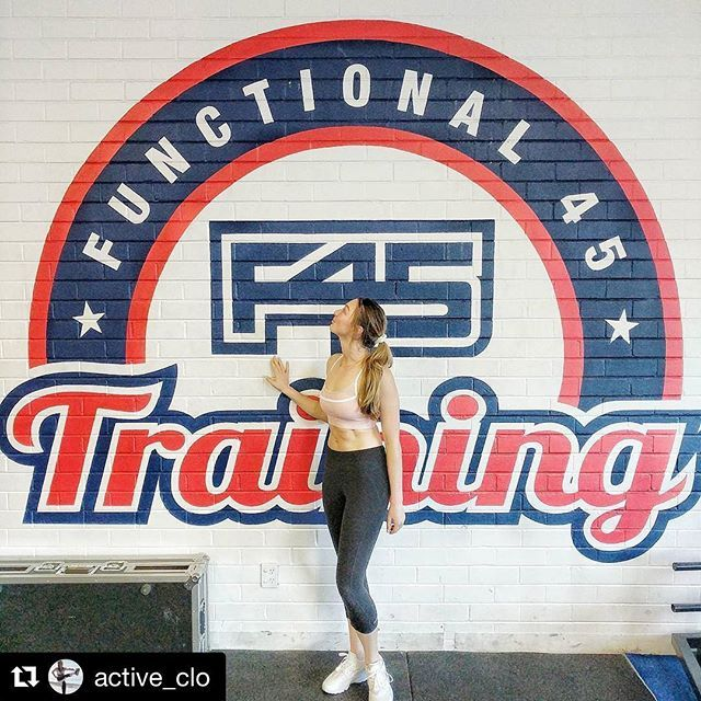 Your Sunday morning workout Inspo with the awesome @active_clo #Repost @active_clo (@get_repost)  ・・・  This mornings @f45_training completed! Who else did Pegasus today??? I think it's my favourite session for sure! Better than Romans  Wore my newest edition from @mactivesportswear the dusty rose crop, which was perfect for a weight training session! Check out their latest collection (website in their bio) and use discount code 'CHLOEMA15' to receive 15% off any purchase!    If you have a...