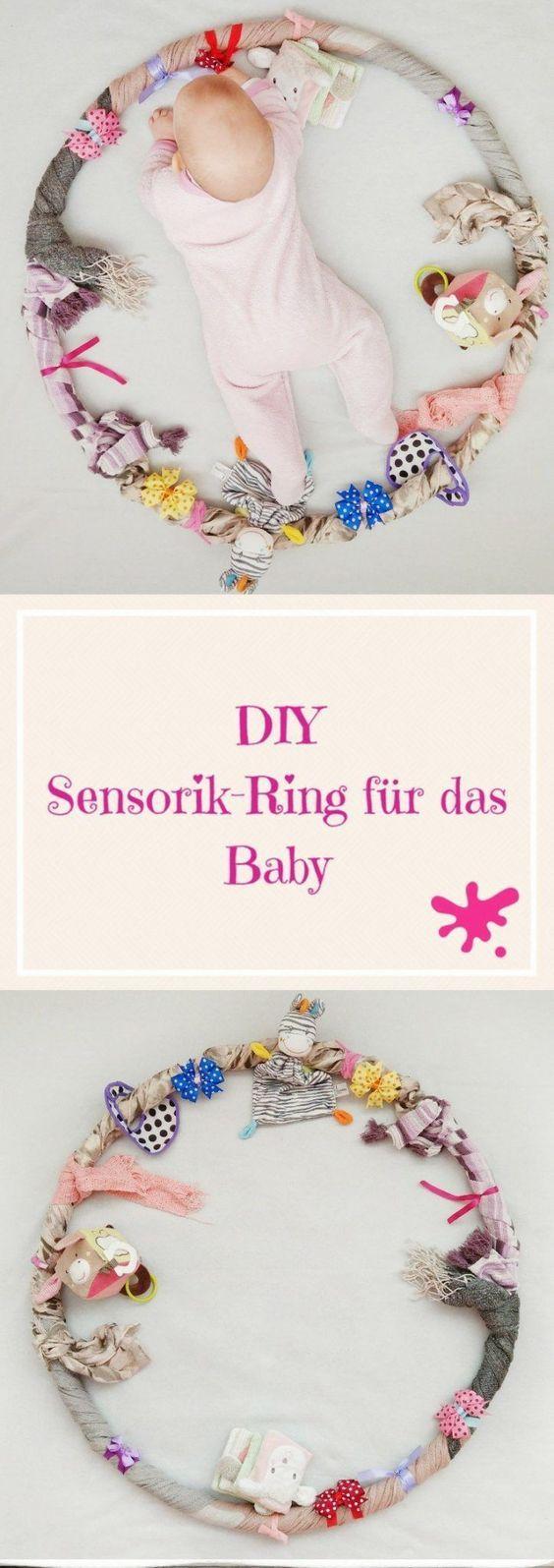 Sensory Hula Hoop für das Baby – Beschäftigung, Lernen und Spielen in einem   – DIY und Selbermachen