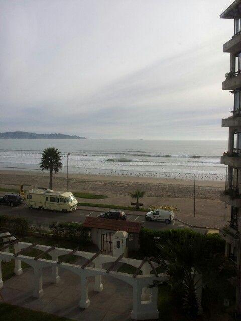 Vista Depto  avenida del Mar chile/la serena