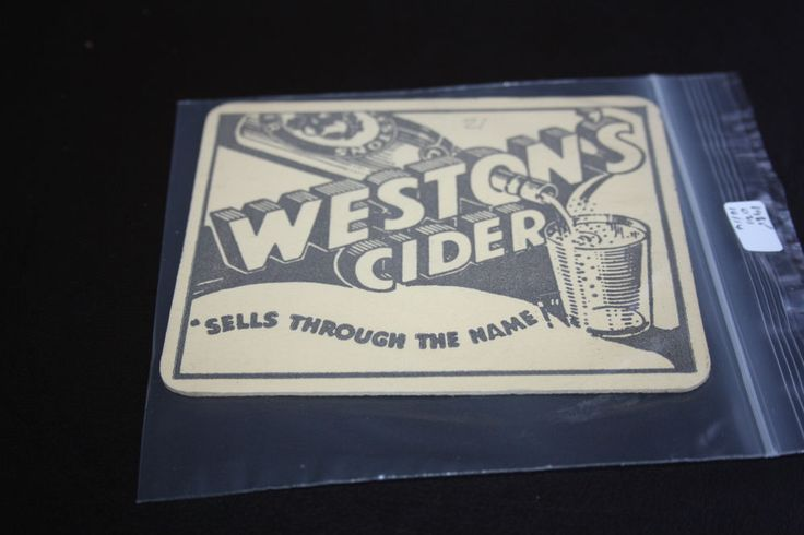 1985 Beermat Westons Cider Cyder Cat 021 (2G36 (10/14)