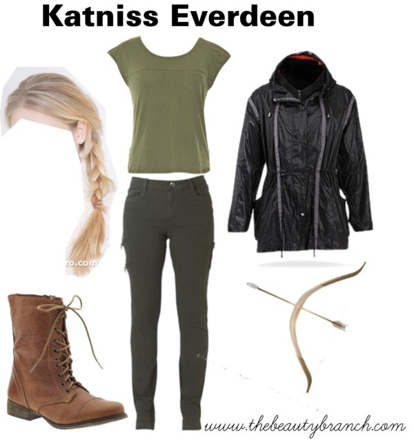 Halloween 2012 Costume Idea: Katniss Everdeen http://www.thebeautybranch.com/