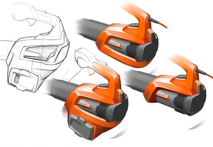 Husqvarna Professional Battery leaf blower on Behance