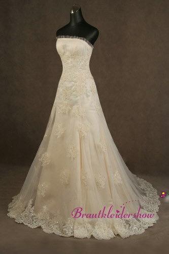 35 best Brautkleider mit Spitze images on Pinterest | Wedding ...