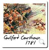 Guilford Courthouse, 1781