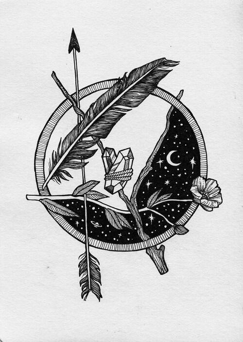 compass star tattoo | Tumblr