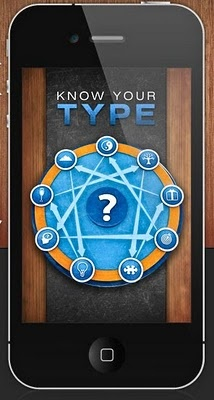 iphone/itouch app on enneagram type!