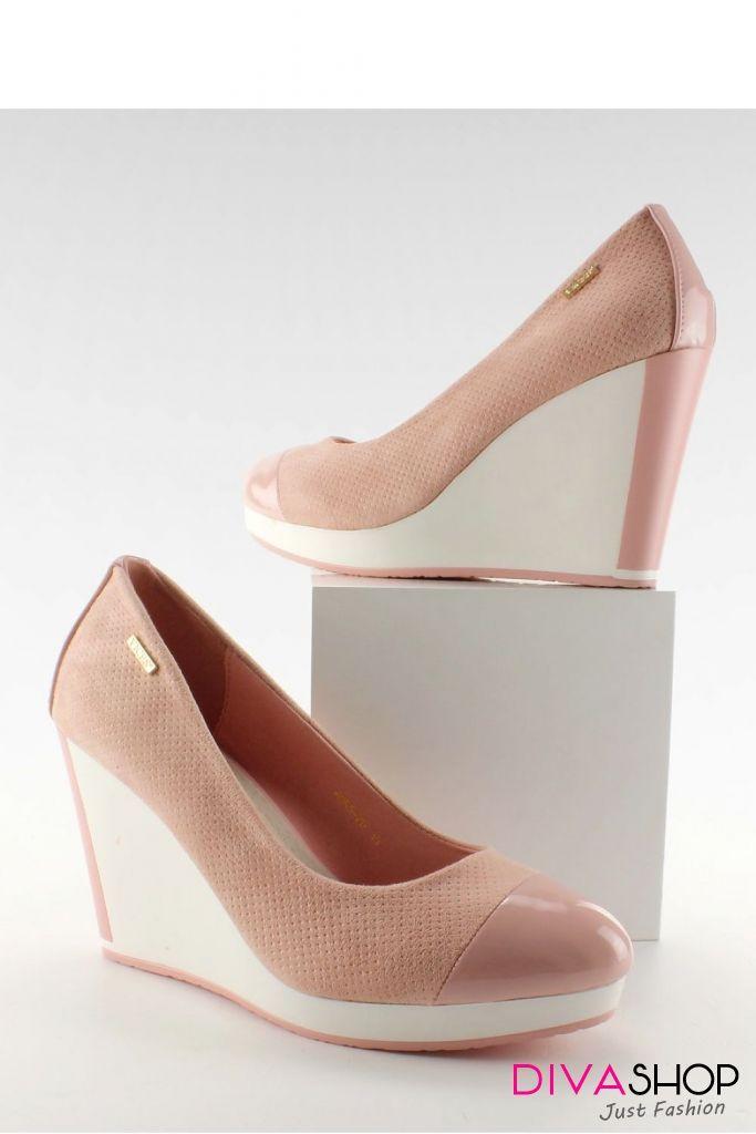 magazin online vânzare online vânzare uriașă Pantofi dama eleganti cu platforma - Inello - 210 Lei - Pantofi ...