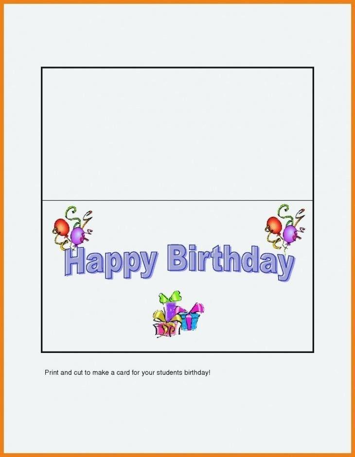 Quarter Fold Greeting Card Template Elegant Avery Quarter Fold Greeting Card Template Be Birthday Cards For Niece Birthday Cards For Mom Birthday Card Template