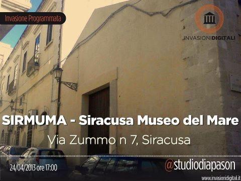 Studio Diapason ci porta ad invadere il SIRMUMA - Siracusa Museo del Mare! #invasionidigitali