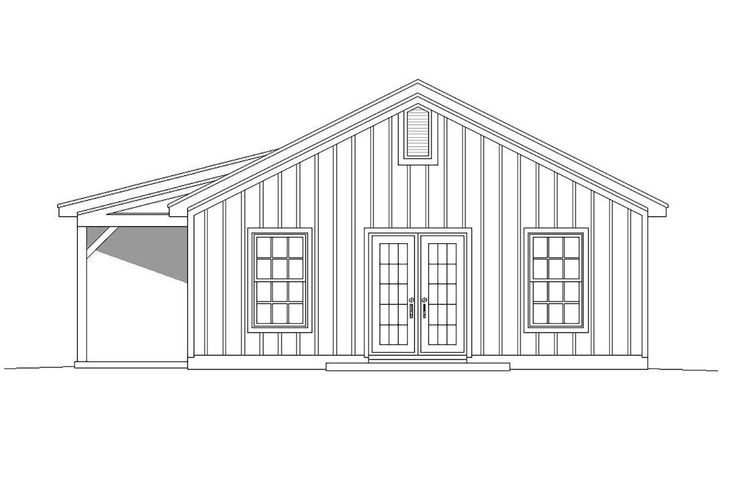 House Plan 940 00129 Country Plan 1 000 Square Feet 2 Bedrooms 1 Bathroom House Plans Skylight Small House Plans