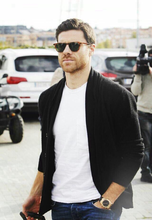 Xabi Alonso ... Rebecca's father, Franklin Hamilton