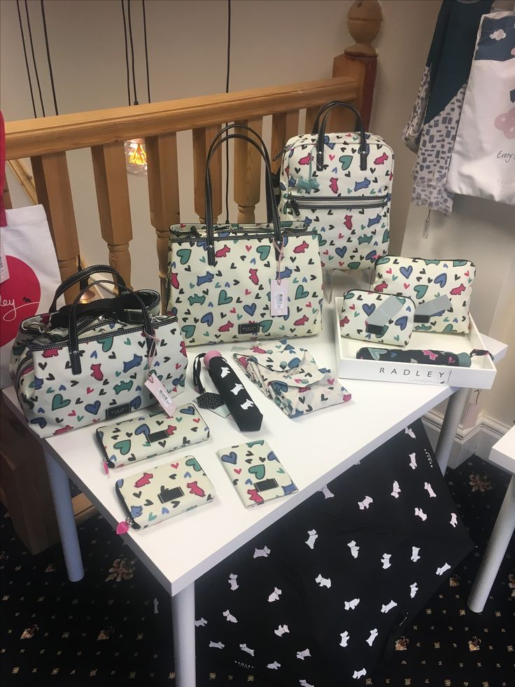 Radley Print Love Me Love My Dog range.  Available in store.