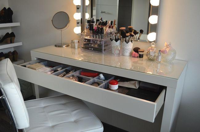 Afbeeldingsresultaat voor make up tafel
