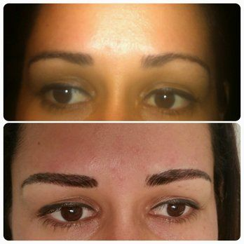 3D eyebrow embroidery in Miami www.miamibrows.com