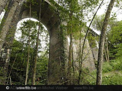 """The Bridge """"de la Blanche"""" in Bertrix - Land of Bouillon in the Ardennes, South Belgium"""