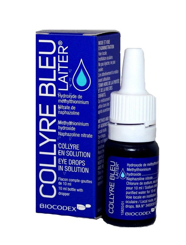 Why These Blue Eye Drops Are the Secret to Making You Look Prettier