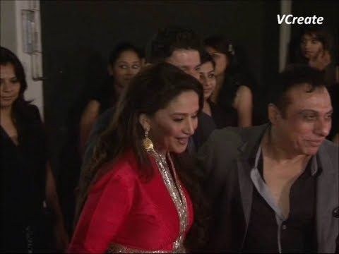 Madhuri Dixit spotted at colors peoples choice awards.