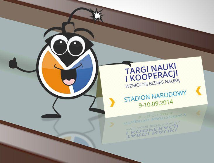 Byliśmy na Stadionie Narodowym gdzie odbyły się Targi Nauki i Kooperacji.